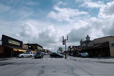 Main street in Wall Drug