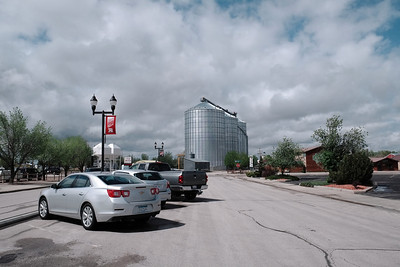 The very end of main street Wall Drug
