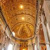 Vatican ceiling.
