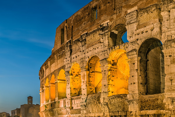 2013 Pic(k) of the week 43: The sun is setting over the Colosseum, Rome