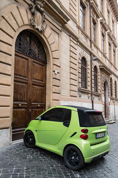 Smart in Rome
