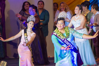 Miss Fa'afafine Samoa 2015 and Miss SOFIAS