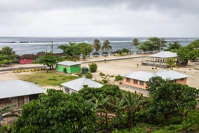 Lalomanu Village