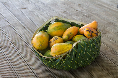 Papaya and mango
