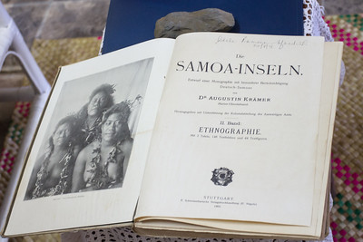 Old German publication about Samoa