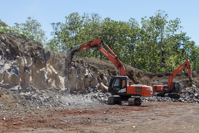 Bluestone quarry