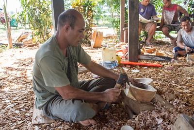 Bowl carving