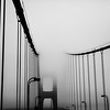 foggy gate bridge