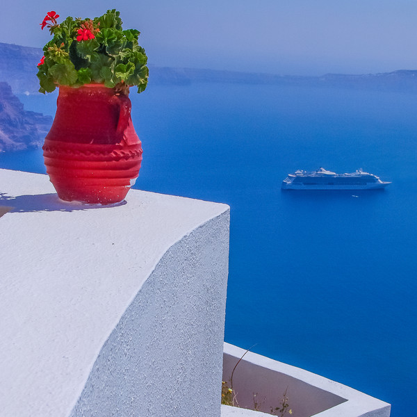 Brilliance of the Seas, Santorini, Greece