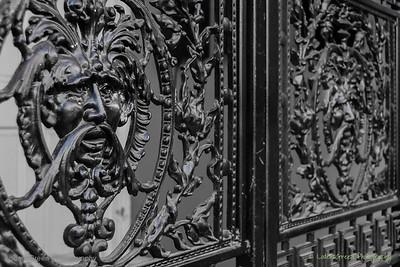 Ornate Ironwork, Savannah, GA