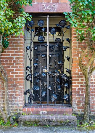Doorway Grillwork