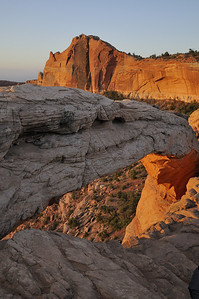 Mesa Arch at dawn at Canyonlands National Park