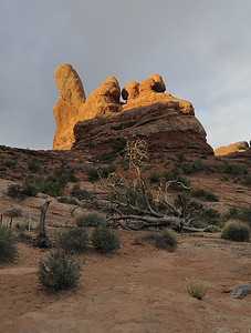 Turret Arch at Arches National Park