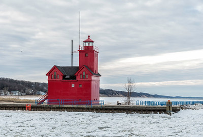 Holland Harbor Michigan  Lighthouse 1872