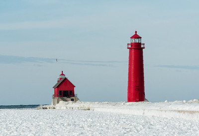 Grand Haven Michigan Lights 1839