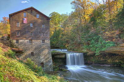 Lanterman's Mill in the Mill Creek Metropark