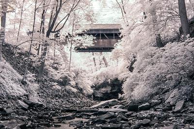 Charles Harding Memorial Covered Bridge 1998