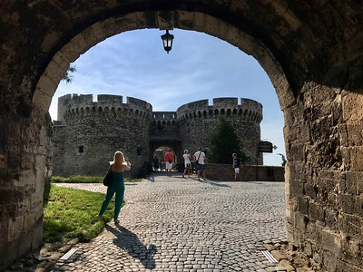 at Kalemegdan Citadel in Belgrade