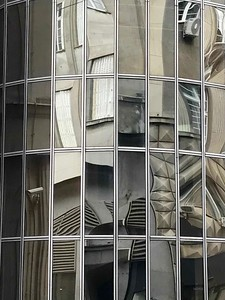 a reflection of Belgrade