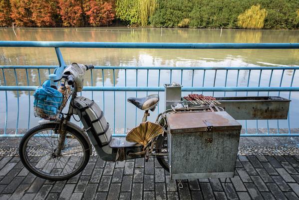 Motorbike restaurant