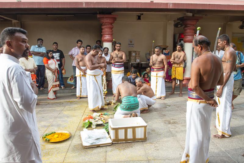 Hindu holiday preparation