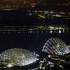 Flower Dome and Cloud Forest at night