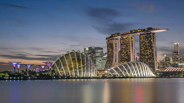 Marina Bay, Singapore - The other side
