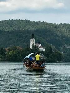 to Lake Bled Island