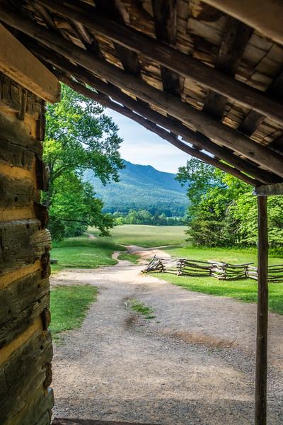 Cabin Porch Mountain View