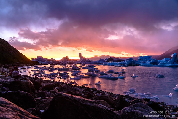 sunrise over Patagonia