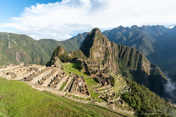 Machu Picchu, Peru<br /> UNESCO World Heritage Site