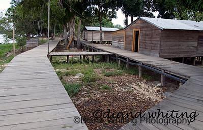 El Toro Village Venezuela Orinoco river