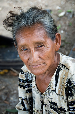 Woman at Rl Toro Village