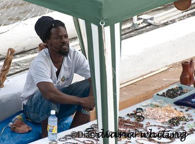 Vendor at Port