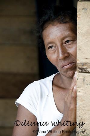 Woman In El Toro Village Orinoco River