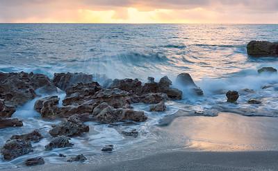 Sunrise at Coral Cove Park