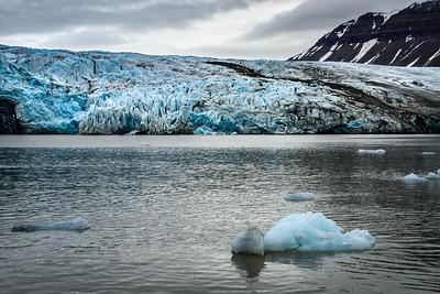 Spitzbergen - Nordenskiöldbreen