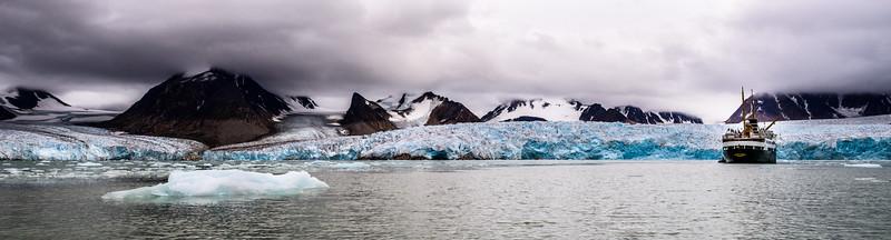 Spitzbergen - Smeerenburg Gletscher