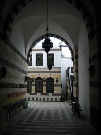 behind Azem Palace, old city, Damascus