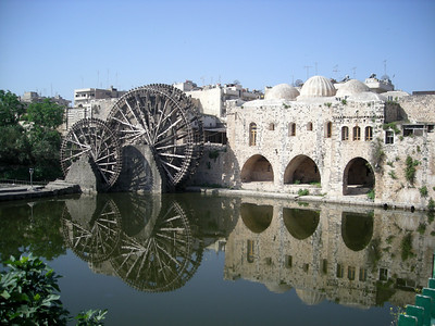 norias in Hama