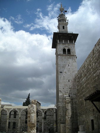 the Umayyad Mosque, old city of Damascus