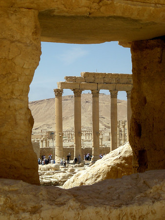 ruins at Palmyra, Syria