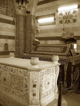 Saladin's mausoleum, old Damascus