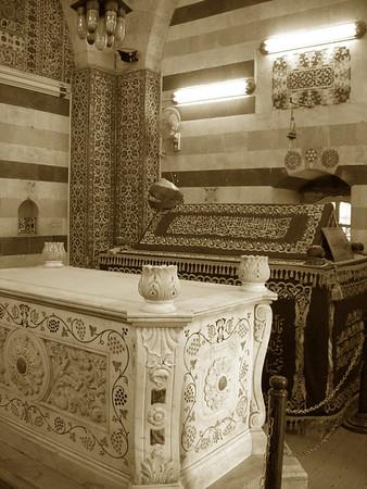 Saladin's mausoleum, old Damascus