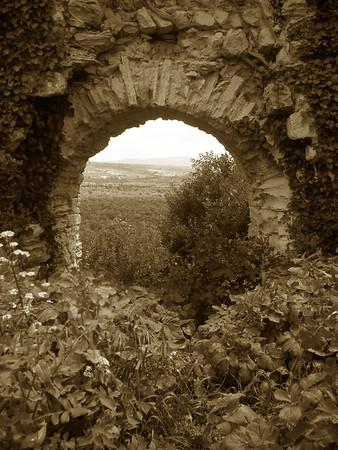ruins at Saladin's Castle - Qala'at Saladin -
