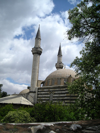 the Takiyya as-Suleimaniyya mosque in Damascus, Syria