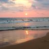 Sunset at Hikaduwa.