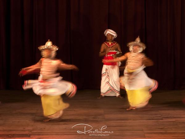 The Kandyan drumming in Sri Lanka