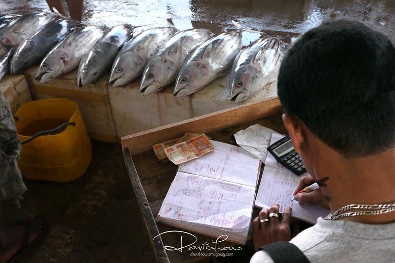 A fish dealer