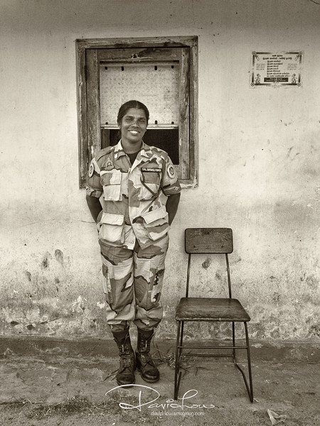 A entrance guard (Sri Lankan)